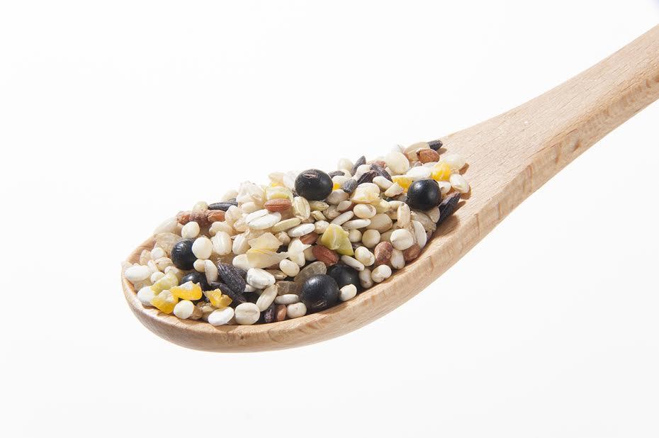 雑穀米の炊飯