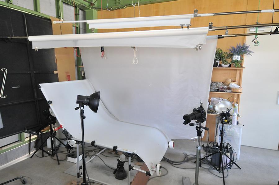 小物の商品撮影で使用している撮影セットをご紹介