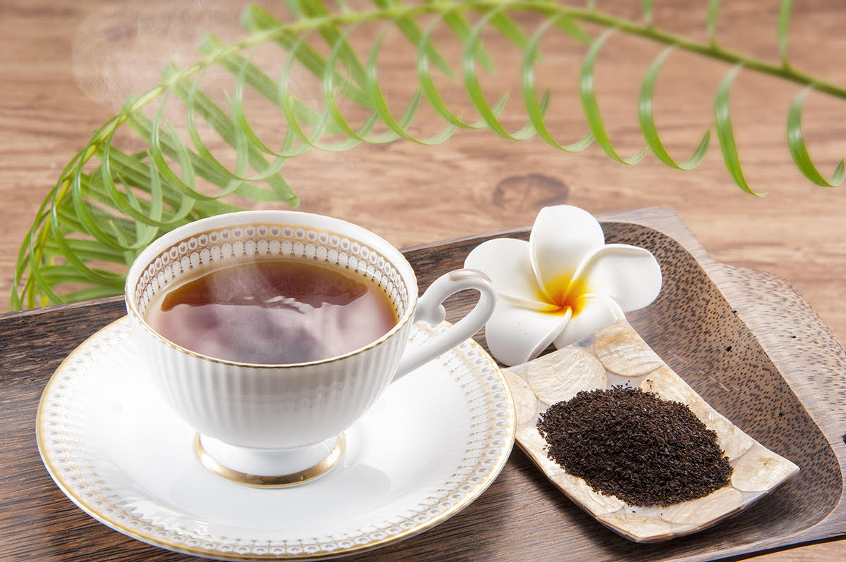 RF様 紅茶の撮影