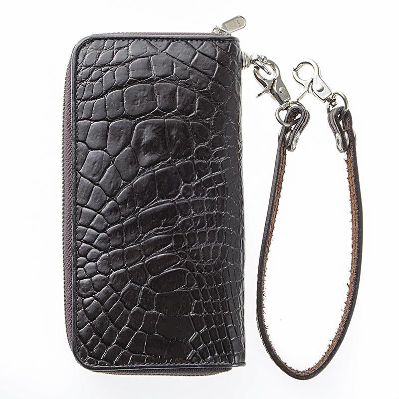 HUさま 革財布の撮影